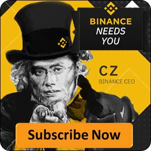 Sign up now on Binance
