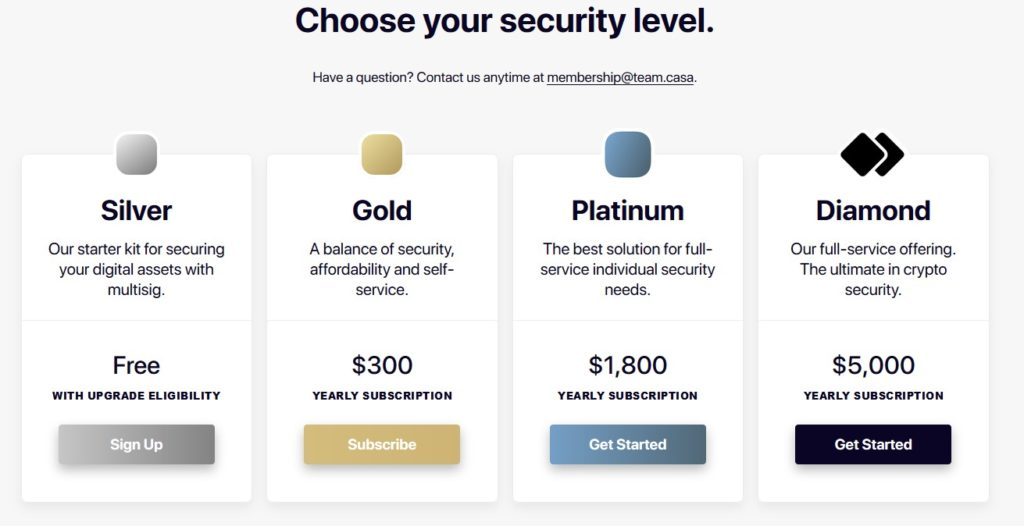CasaKeymaster is a service that protects all our private keys
