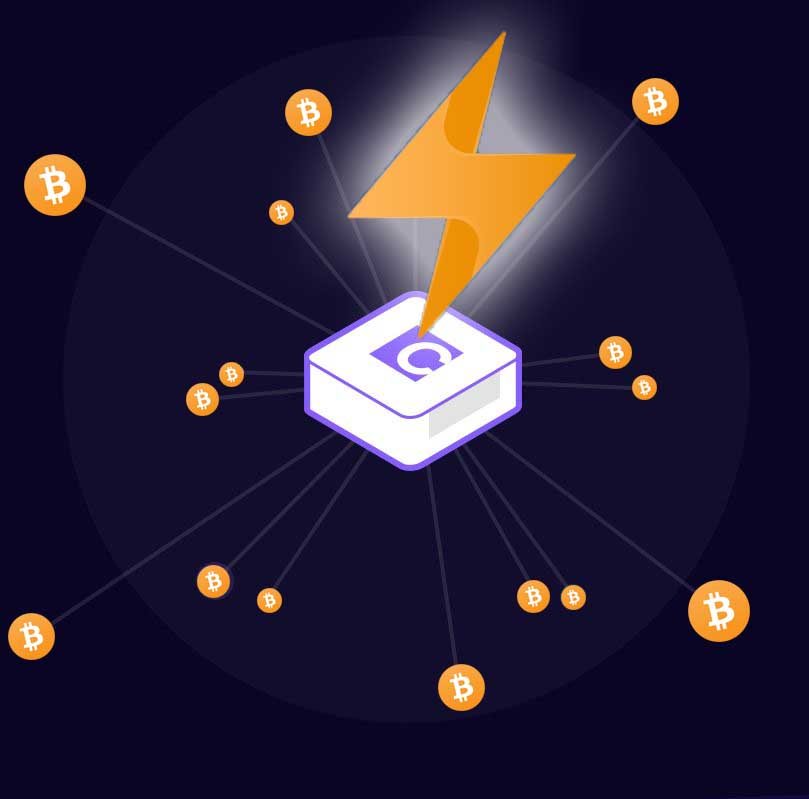Create a lightning network of bitcoin with Casanode