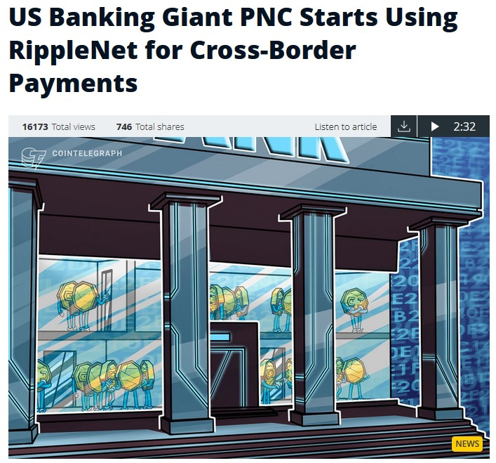 ripple and the collaboration with PNC