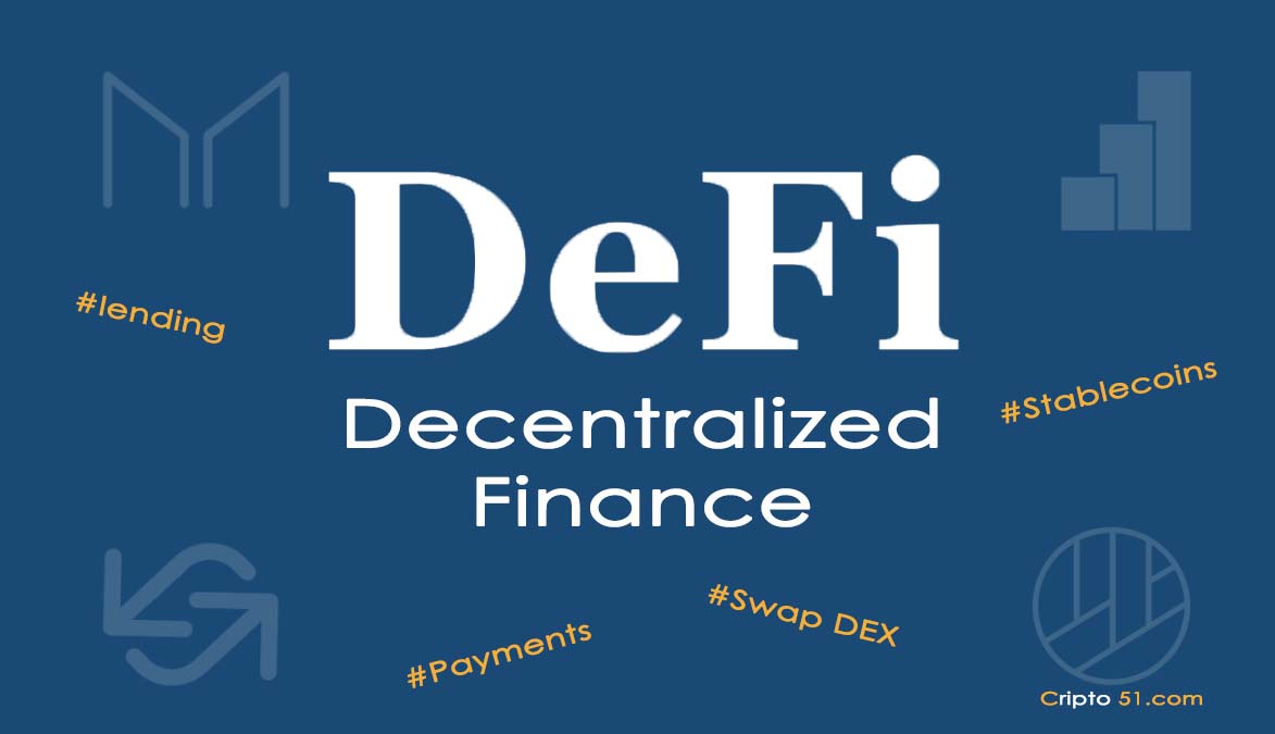 DEFI decentralized finance, what is it and how it works