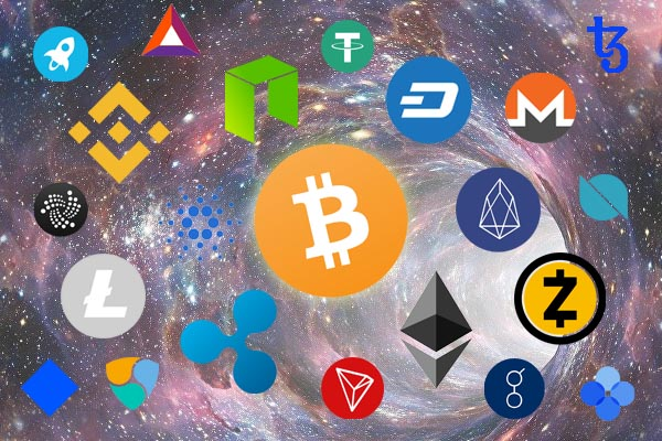 cryptocurrencies section