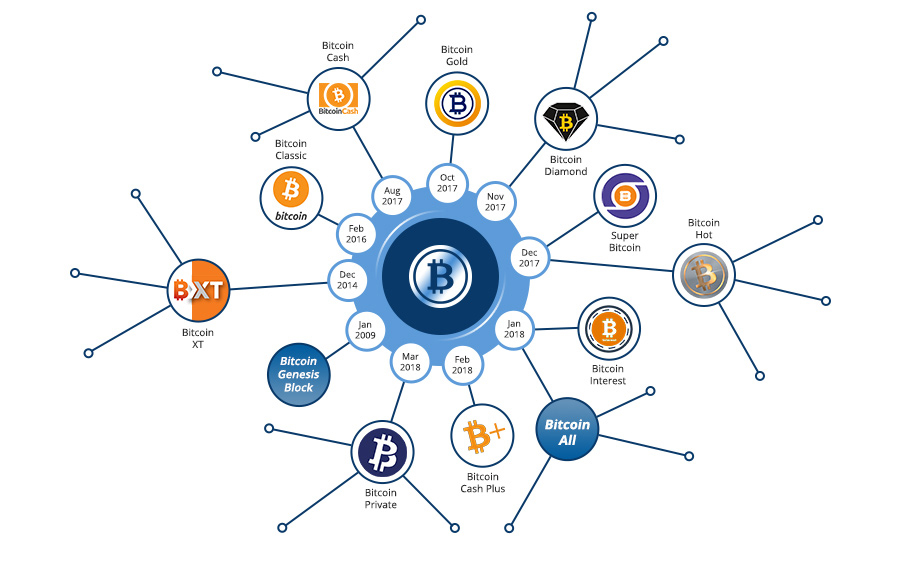 cryptocurrency forks especially those on bitcoin